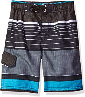 Kanu Surf Boys' Viper Quick Dry Beach Swim Trunk