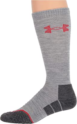 Heather Gray/Rocket Red