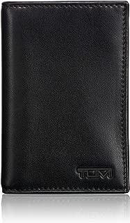 Delta Multi Window Card Case Wallet with RFID ID Lock for Men - Black