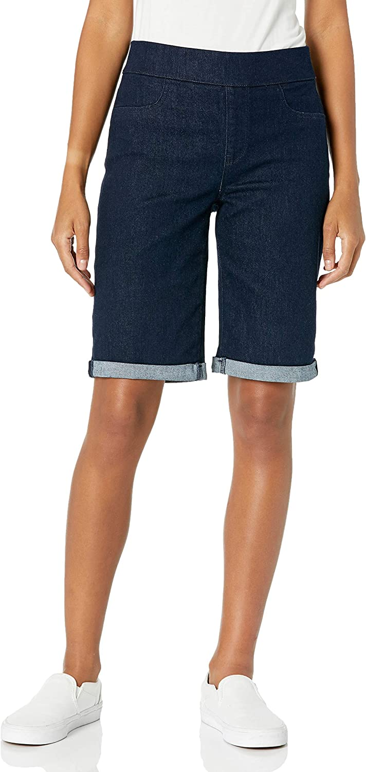 NYDJ Women's Pull-on Shorts Roll Cuff Very popular! Colorado Springs Mall with