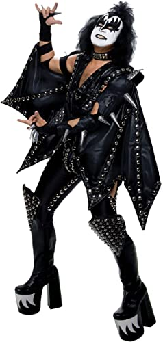 Web oficial Authentic Authentic Authentic Gene Simmons Demon Fancy dress costume Small Medium  alto descuento