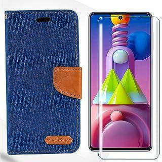 HYMY Bookstyle Flip Phone fodral Shell för Alcatel 1C 2019 + skärmskydd Screen Protector Protection Film - TPU Silikon PU ...