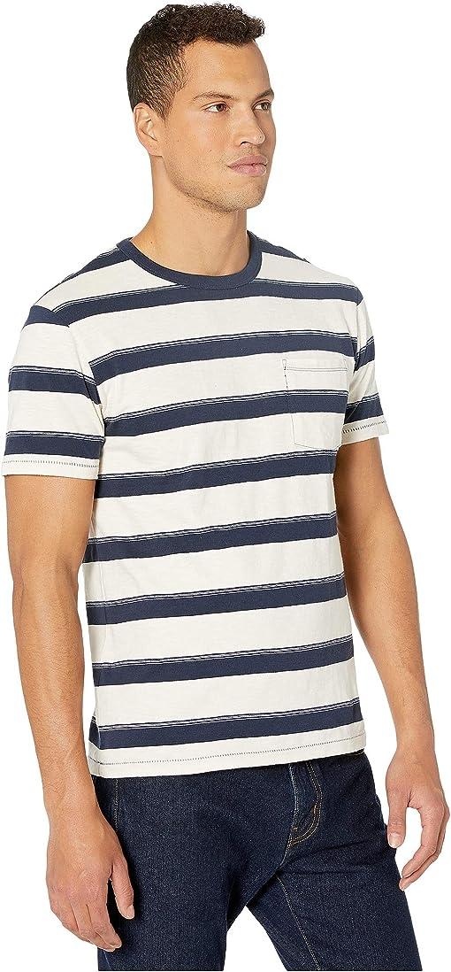 Navy Declan Stripe