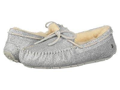 UGG Dakota Sparkle Slipper (Silver) Women
