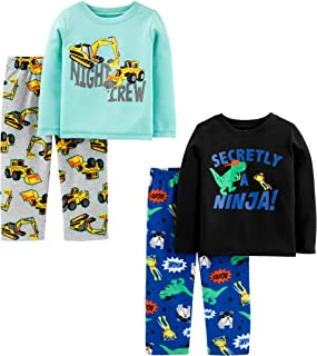 toddler boy two piece pajamas