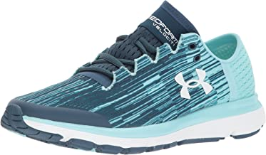 Under Armour Women's Speedform Velociti Graphic Running Shoe, True Ink (918)/Blue Infinity, 9.5