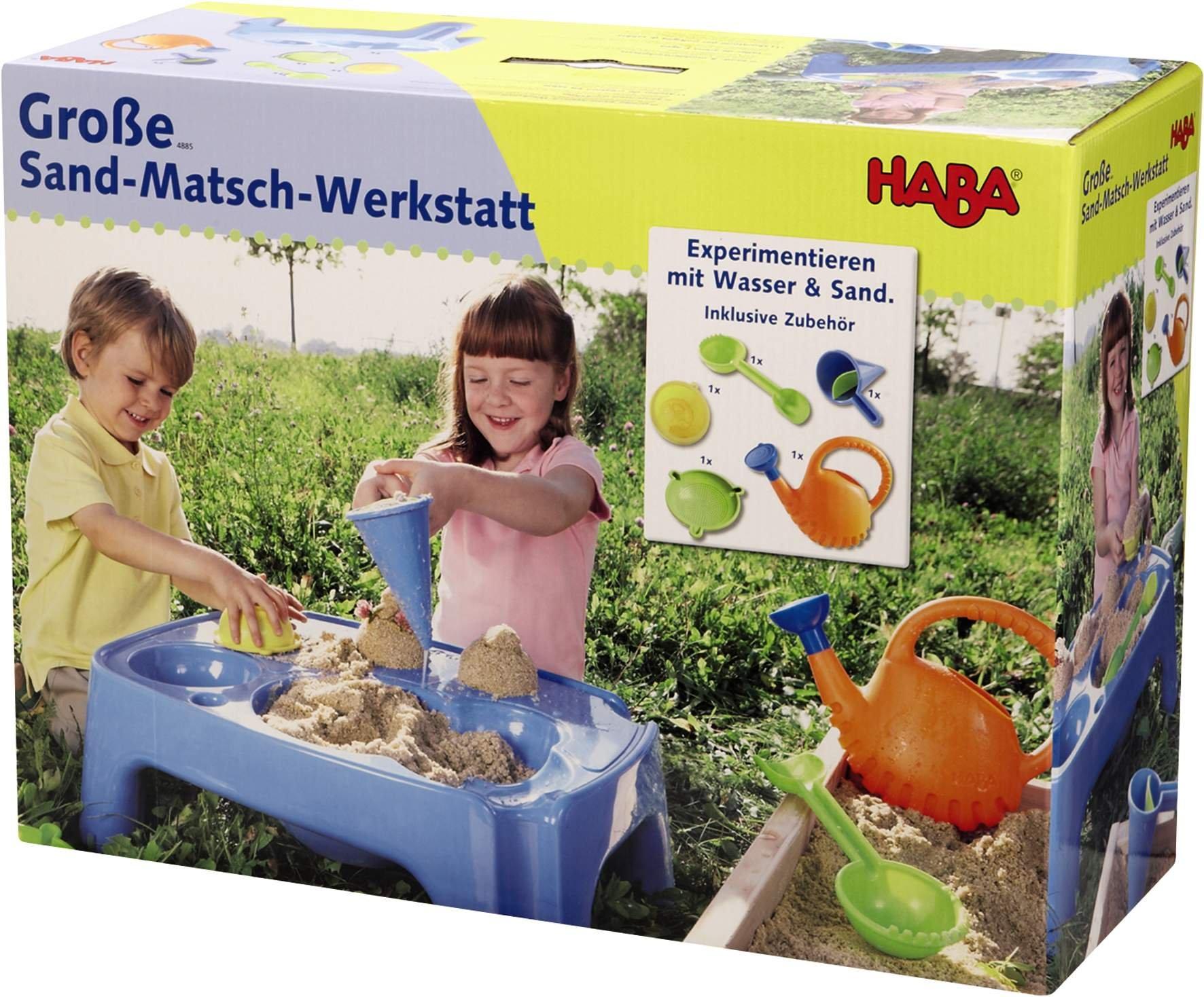 HABA 4885 Große Sand Matsch Werkstatt | duo