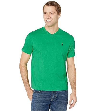 Polo Ralph Lauren Classic Fit V-Neck Tee (Golf Green) Men