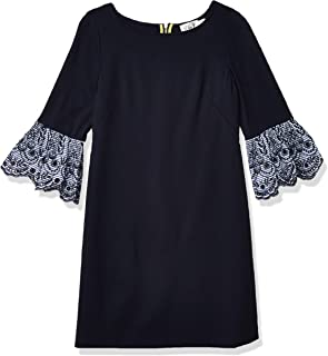 فستان بأكمام طويلة على شكل حرف T من اليزا جيه