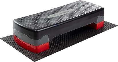ScSPORTS Aerobic Step medium, Fitness step, Incl. onderlegmat, Verstelbaar, Tot 200 kg belastbaar