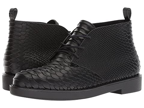 + Melissa Luxury Shoes x Baja East Desert Boot Python