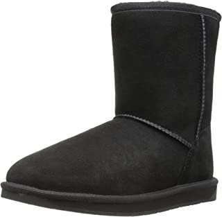 Amazon Brand - 206 Collective Women's Balcom Short Back-Zip Shearling Ankle Boot