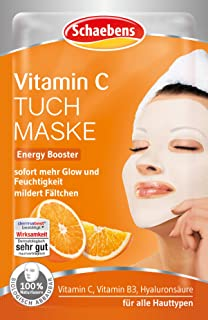 Schaebens Vitamin C Tuchmaske, 21 g