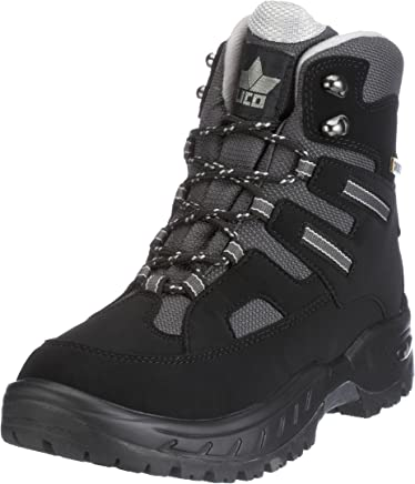 Lico Men�s Flake Warm Lined Snow Boots Short Length