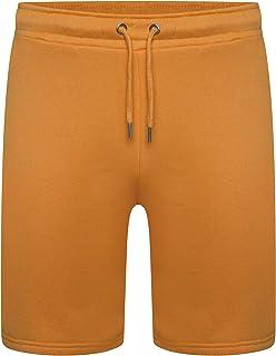 Get The Trend Mens Plain Jersey Shorts Mens Pyjama Shorts Bottoms PJ S M L XL (Orange)