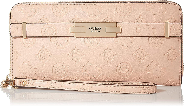 GUESS Women's Bea Large Zip Around Wallet