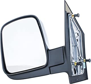 Driver Side Mirror for Chevy Express, GMC Savana (03 04 05 06 07 08 09 10 11 12 13 14 15 16 17) Textured Non-Heated Folding Left Outside Rear View Replacement Door Mirror - GM1320284