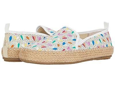 EMU Australia Kids Gum Espadrille (Toddler/Little Kid/Big Kid) (Multi Heart) Girls Shoes