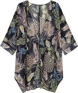 Best peacock kimono cardigan Reviews