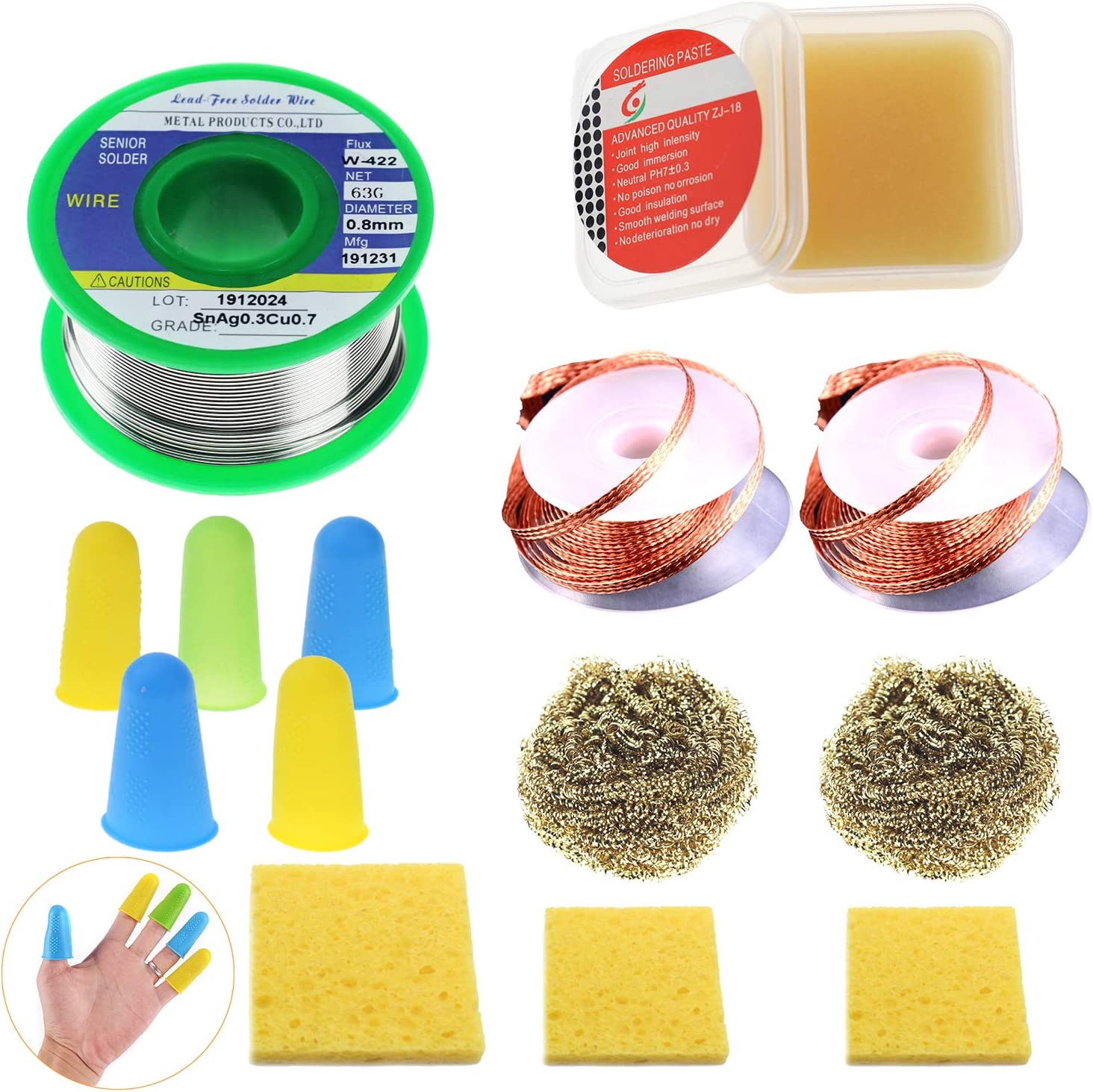 Bombing free shipping Makeronics Solder wire Iron Tip Electrical Solde ! Super beauty product restock quality top! Cleaner Kit for