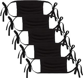Oscar Apparels Reusable Face Mask, 100% BCI Cotton Self-Tie