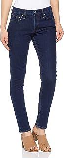 Calvin Klein Women's Ckj 021 Mid Rise Slim Jeans