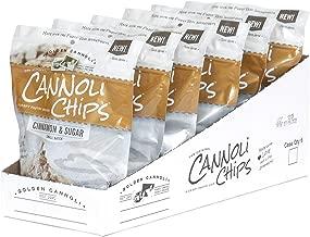 The Original Cannoli Chips, 6ct Case (Cinnamon Sugar)