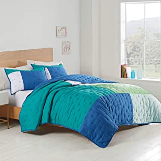 Utica® Positive Vibes Quilt Set, Twin/Twin XL, Teal