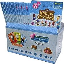 Animal Crossing Amiibo Cards Series 3 – Full box (18 Packs) (6 Cards Per Pack/108 Cards) (Renewed)
