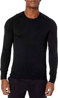Peak Velocity Men's Crew Neck Merino Wool Thermolite Sweater