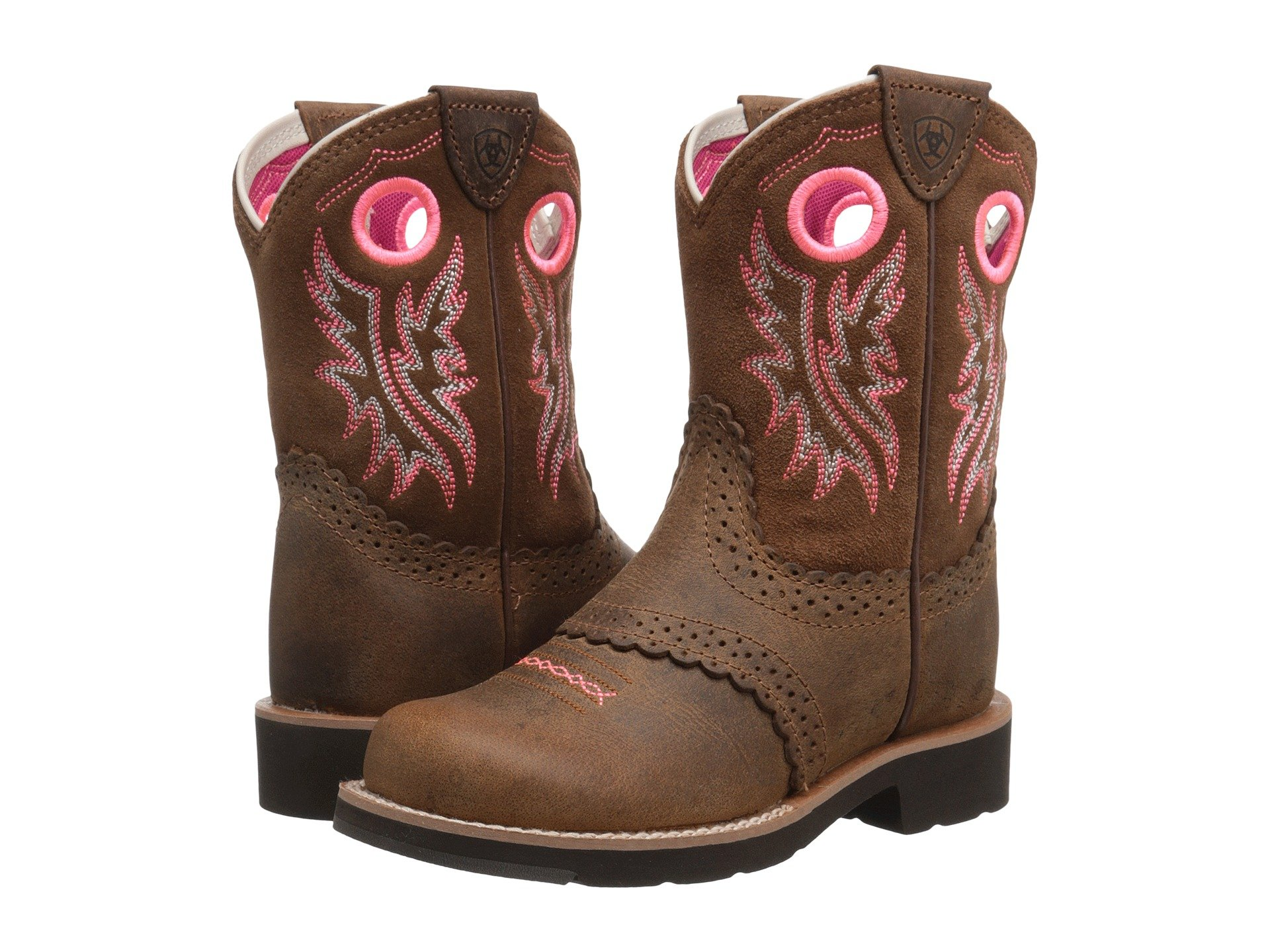 9f024990a86 Girls Ariat Kids Boots + FREE SHIPPING | Shoes | Zappos.com