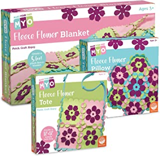MindWare Make Your Own Set of 3: Fleece Tab Crafts (no Sewing Required)