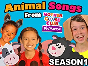 Animal Songs From Mother Goose Club Playhouse