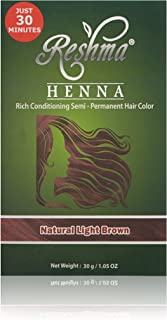 Reshma Beauty Natural Light Brown 30 Minute Henna Hair Color