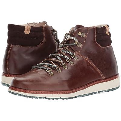 Jambu Rushmore Water-Resistant (Brown Full Grain Leather/Kid Suede) Men