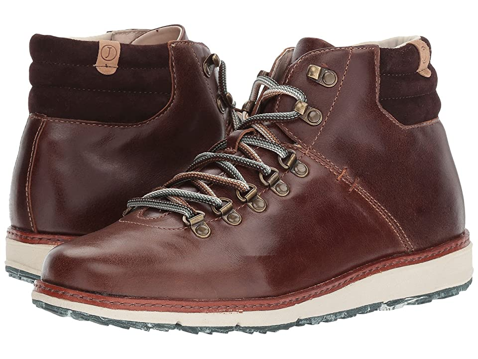 Jambu Rushmore Water-Resistant (Brown Full Grain Leather/Kid Suede) Men
