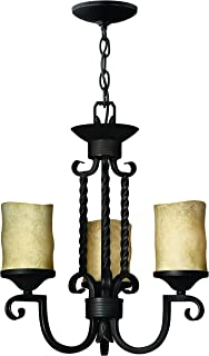 Hinkley 4013OL Traditional Three Light Chandelier from Casa collection in Bronze/Darkfinish,