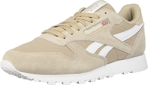 Reebok Men's Classic Leather Walking schuhe, Parchment Weiß, 5.5 M US