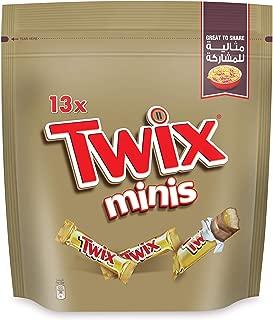TWIX Minis Chocolate (13 Pieces), 260g