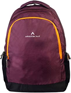 Aristocrat Wine Polyester A3 Laptop Backpack