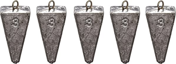SouthBend Pyramid Sinker, Pack of 5
