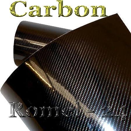 19 71 M 30cm X 152cm Folie Selbstklebend Hochglanz LuftkanÄle Carbon 5d Schwarz Auto