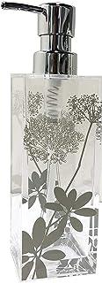 センコー サリナ シャンプーボトル ディスペンサー クリア 約7×7×高23.2cm(容量約420ml) 79896
