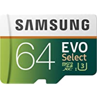 Deals on Samsung 64GB 100MB/s MicroSD EVO Memory Card w/Adapter
