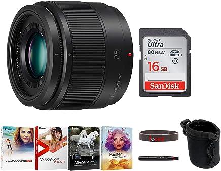 パナソニックLUMIX G 25mm / F1.7 ASPH(アスフェリカル)レンズ 16GB SDカード付き セット売り