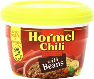 Hormel Micro Cup Chili with Beans, 7.38 Ounce 12 Pack