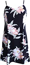 product image for Paradise Found Womens Orchid Corsage Princess Seam Mini Sundress in Black - S