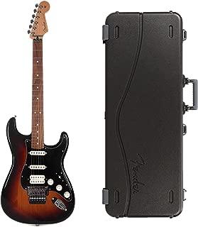Fender Player Stratocaster Floyd Rose HSS 3-Color Sunburst Bundle w/Fender Molded Hardshell Case