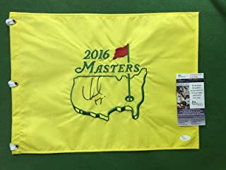 Kidd Rock Signed Masters Flag Certificate Of Authenticity - JSA Certified - Autographed Golf Pin Flags