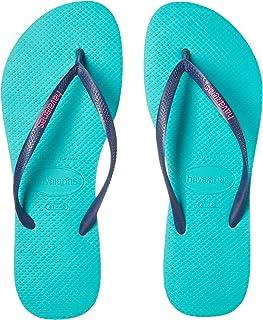 89b87741d Havaianas Women s Slim Logo Pop Up Multicolored Flip-Flop Sandals